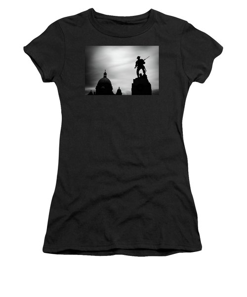 Victoria Silhouettes Women's T-Shirt (Athletic Fit)