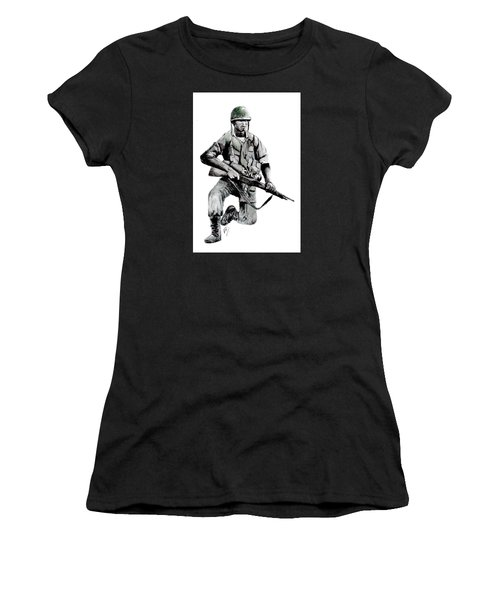 Vietnam Infantry Man Women's T-Shirt (Athletic Fit)