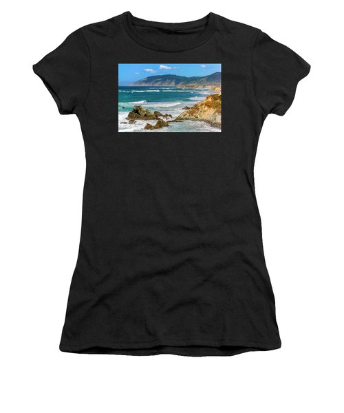 View From Abalone Point Women's T-Shirt