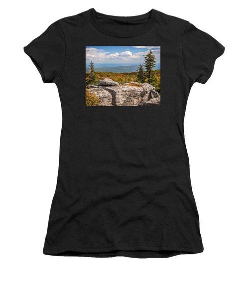 View From Bear Rocks 4173c Women's T-Shirt