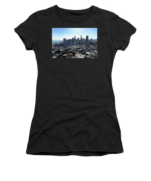 View From Coit Tower Women's T-Shirt