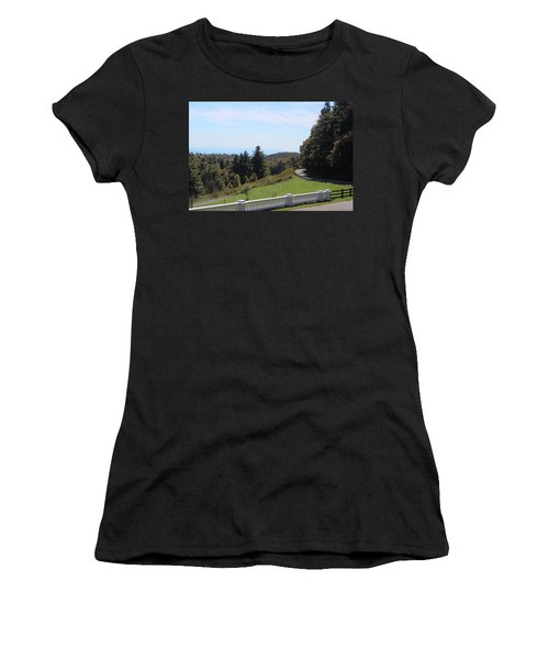 View From Moses Cone 2014a Women's T-Shirt (Athletic Fit)