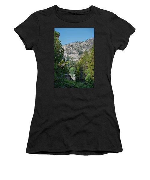 View Of Eagle Lake Women's T-Shirt