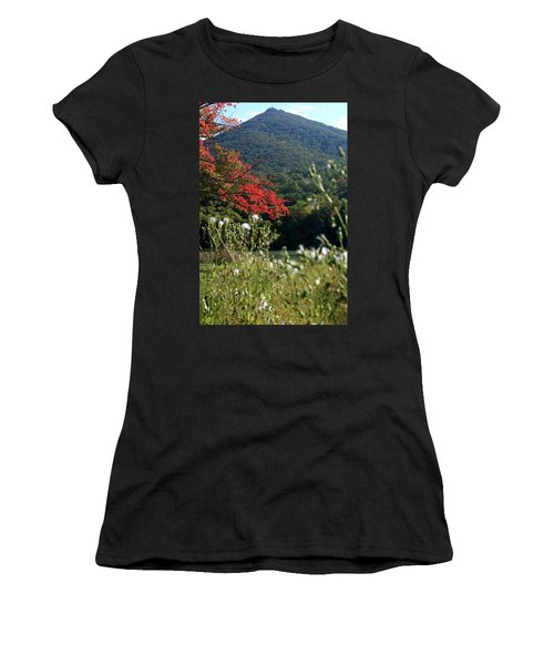 View Of Sharp Top In Autumn Women's T-Shirt (Junior Cut) by Emanuel Tanjala