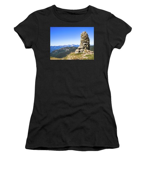 View Of The Apuan Alps Women's T-Shirt (Athletic Fit)