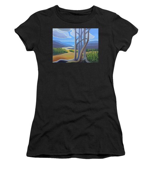 View Of The Lake Women's T-Shirt (Athletic Fit)