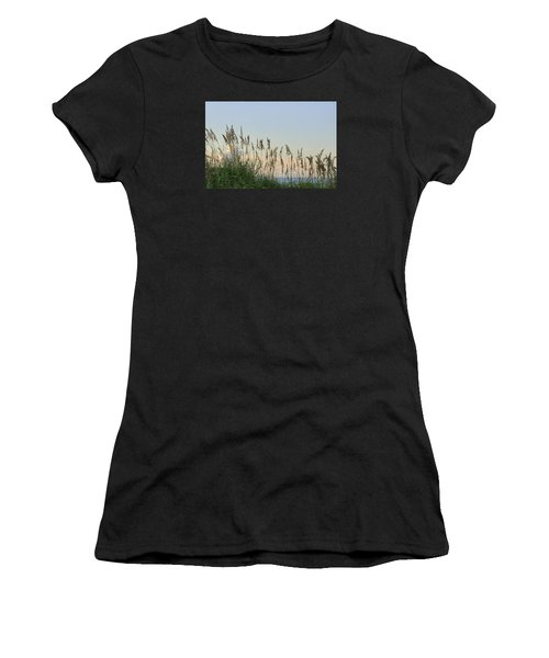 View Through The Sea Oats Women's T-Shirt (Athletic Fit)