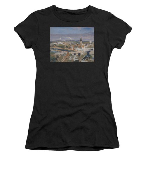 View To The East Bank Of Maastricht Women's T-Shirt (Athletic Fit)