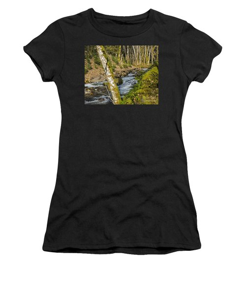 Views Of A Stream, I Women's T-Shirt (Athletic Fit)