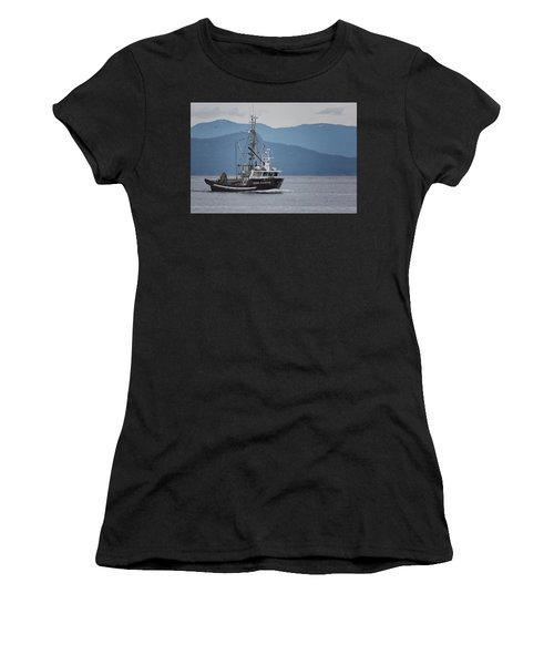 Viking Sunrise At Nw Bay Women's T-Shirt