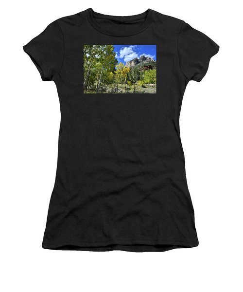 Village Beneath Mt. Charleston Women's T-Shirt