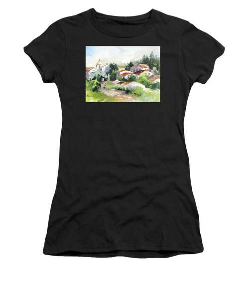 Village Life 5 Women's T-Shirt (Athletic Fit)