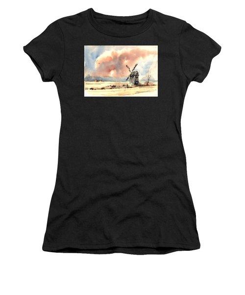 Village Scene Vi Women's T-Shirt