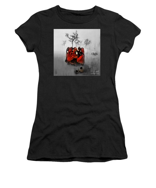 Village Women 01 Women's T-Shirt (Athletic Fit)