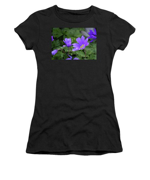 Vinca In The Morning Women's T-Shirt (Athletic Fit)