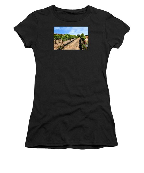 Vines And Roses Women's T-Shirt