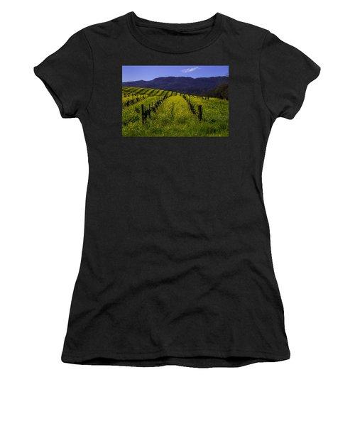 Vineyard Mustard Women's T-Shirt