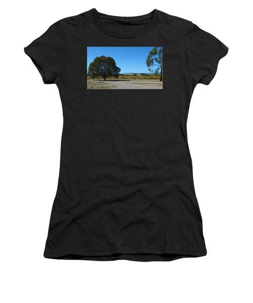 Vineyard Trees Women's T-Shirt (Athletic Fit)
