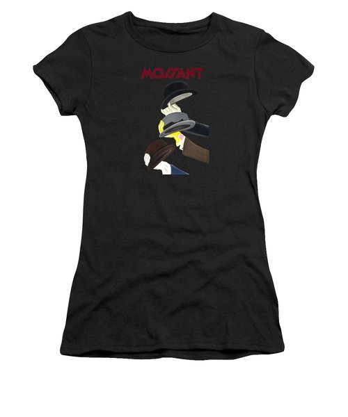 Vintage Advert Poster Mossant Women's T-Shirt (Athletic Fit)