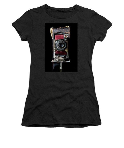 Vintage Bellows Camera Women's T-Shirt
