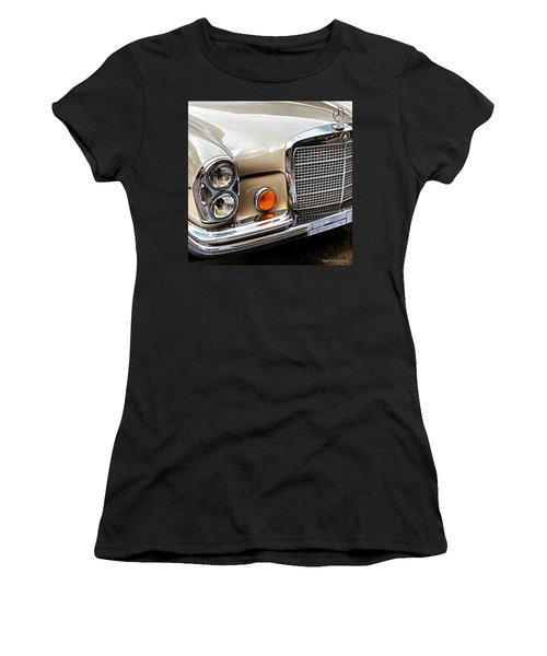 #vintage #car Corner Peek-a-boo Women's T-Shirt (Athletic Fit)