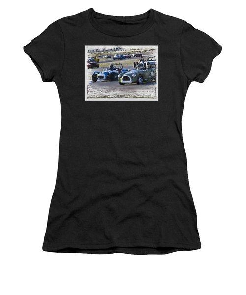 Vintage Competition Women's T-Shirt (Athletic Fit)
