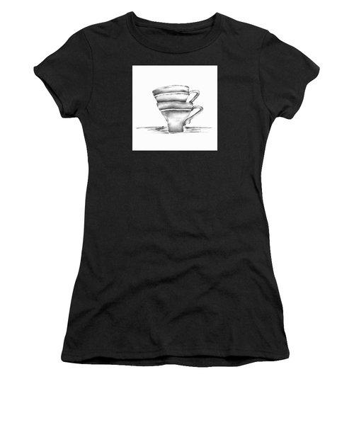 Vintage Cups Women's T-Shirt (Athletic Fit)