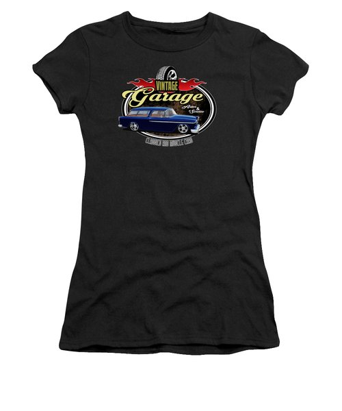 Vintage Garage With Nomad Women's T-Shirt