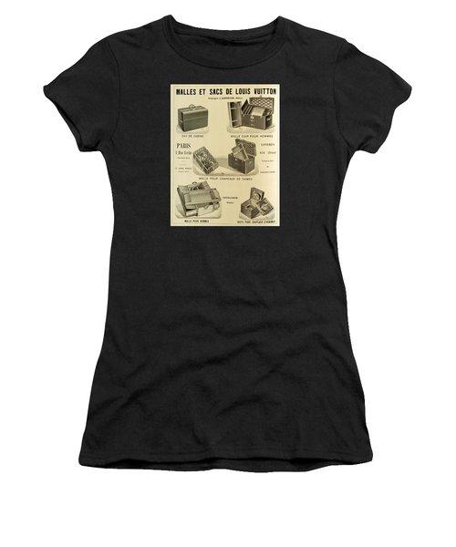 Vintage Louis Vuitton Advertisement - 1898 Women's T-Shirt (Athletic Fit)
