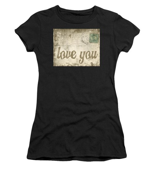 Vintage Love Letters Women's T-Shirt