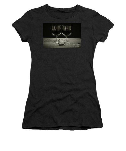 Vintage Love  Women's T-Shirt (Junior Cut) by Ray Shrewsberry