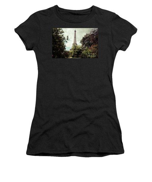 Vintage Paris Landscape Women's T-Shirt