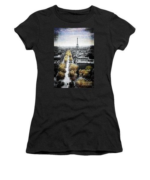 Vintage Paris Women's T-Shirt (Athletic Fit)