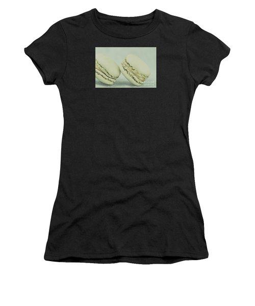 Vintage  Pistachio Macarons Women's T-Shirt