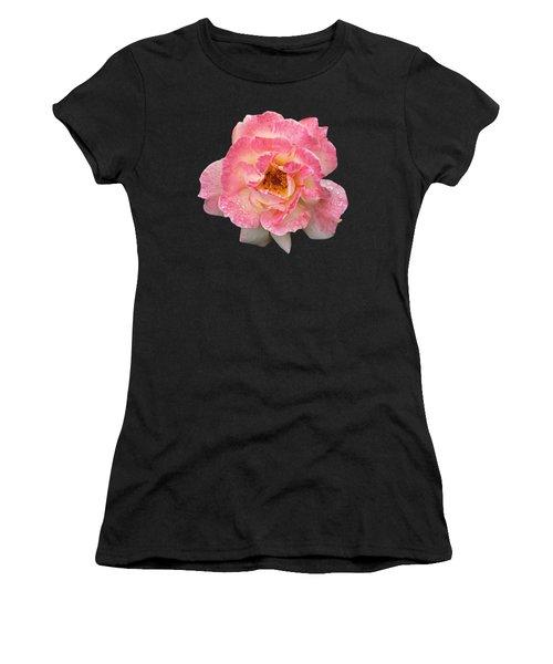 Vintage Rose Square Women's T-Shirt (Athletic Fit)