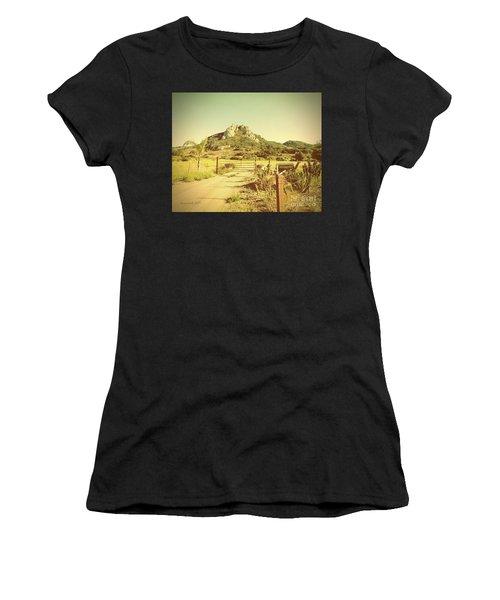 Vintage San Luis Obispo California Seven Sisters  Women's T-Shirt (Athletic Fit)