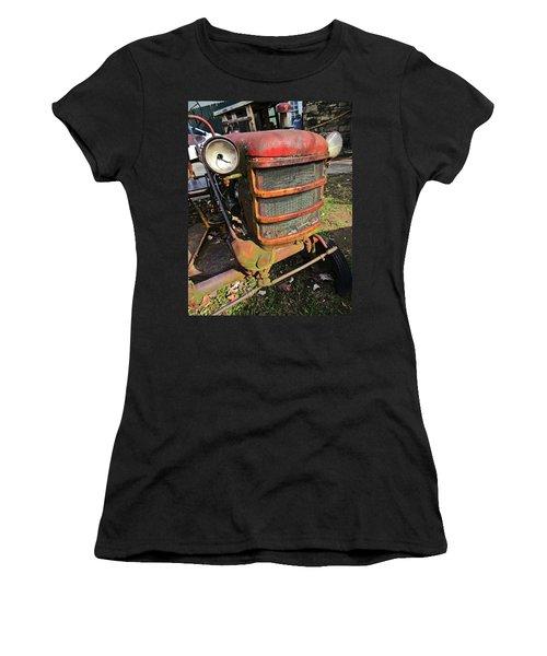 Vintage Tractor Mower Women's T-Shirt