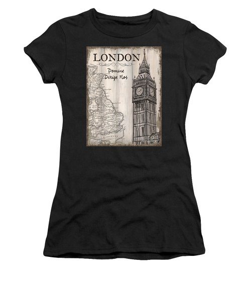 Vintage Travel Poster London Women's T-Shirt