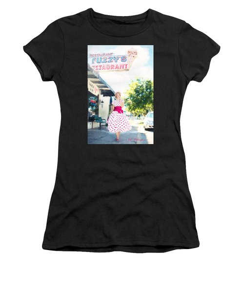 Vintage Val Ice Cream Parlor Women's T-Shirt
