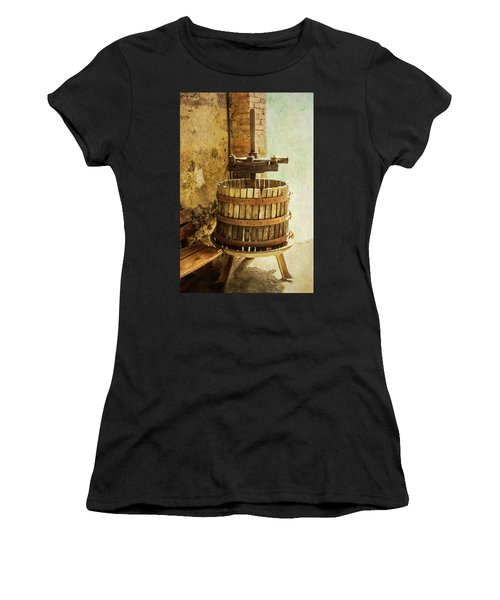 Vintage Wine Press Women's T-Shirt (Athletic Fit)