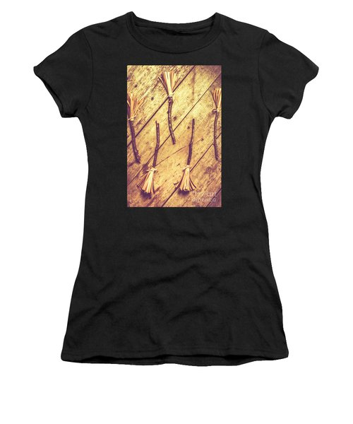 Vintage Witches Broomsticks Women's T-Shirt