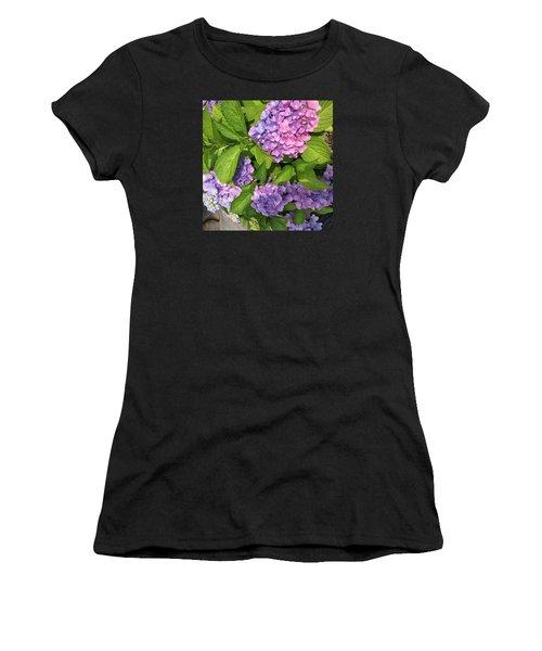 Violet Persuasion Women's T-Shirt (Athletic Fit)