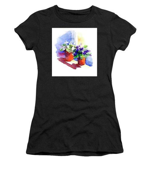 Violets Are Blue Women's T-Shirt