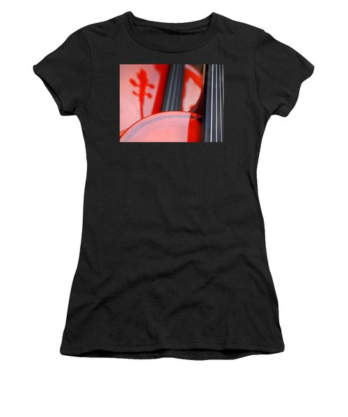 Violins Women's T-Shirt (Athletic Fit)