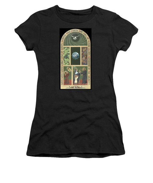Viriditas - Finding God In All Things Women's T-Shirt