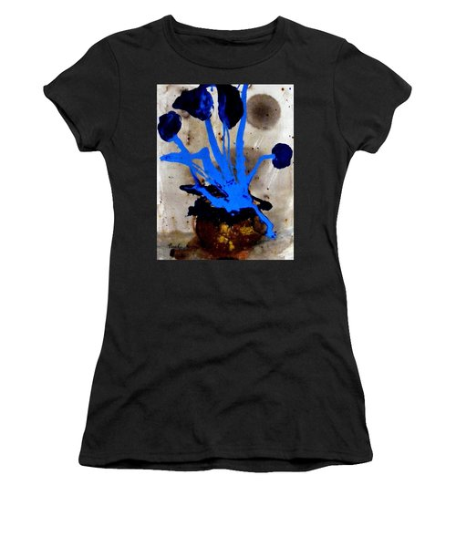 Virtually Blue Women's T-Shirt (Athletic Fit)