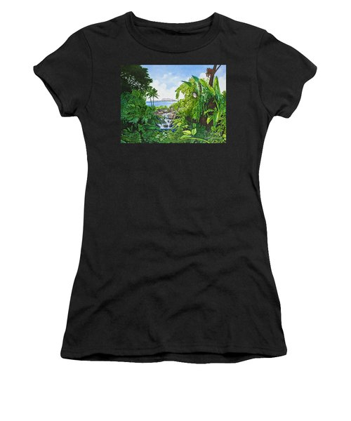 Visions Of Paradise Ix Women's T-Shirt (Athletic Fit)