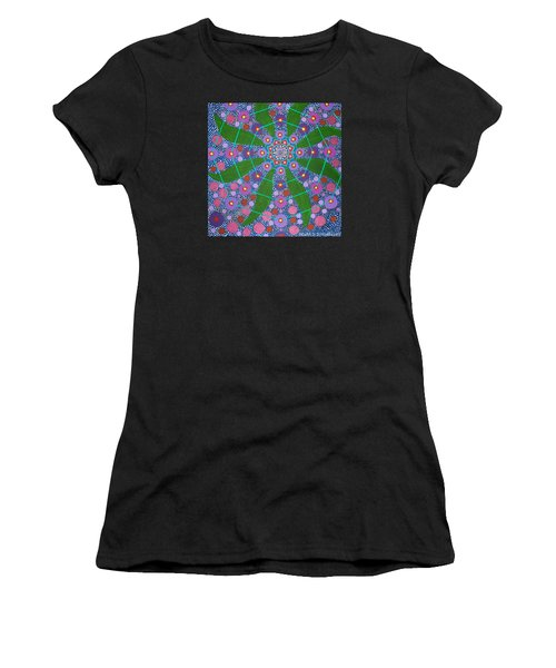 Visions Of The Amethyst Beyond  Women's T-Shirt (Athletic Fit)