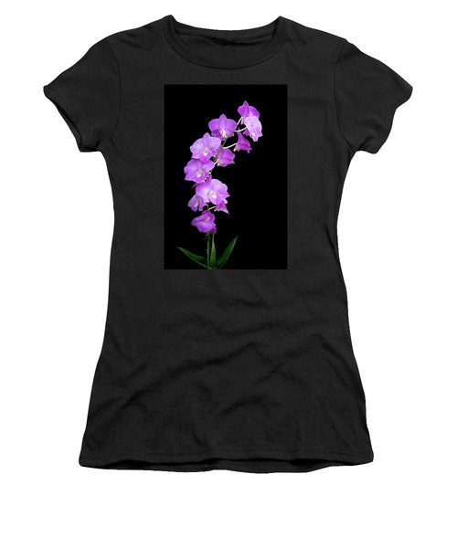 Vivid Purple Orchids Women's T-Shirt
