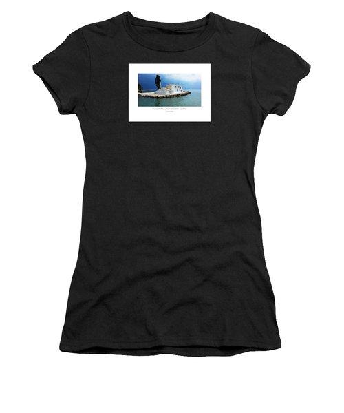 Vlachurna Monastary - Corfu Women's T-Shirt